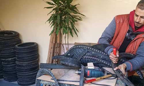 From telecom employee to tire upcycling entrepreneur – story of Recycla in Morocco