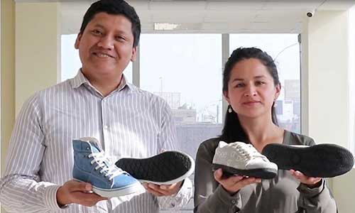 Fashion brand from Peru upcycles end-of-life tires to produce shoe soles