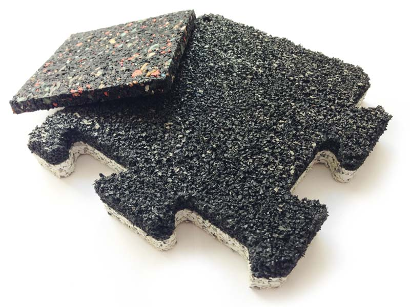 recycled rubber products & materials