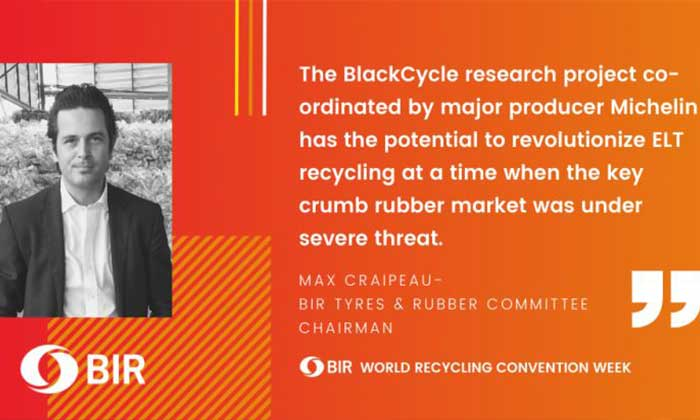 "BlackCycle – potential ""game-changer"" for end-of-life tires and recycled tire rubber"