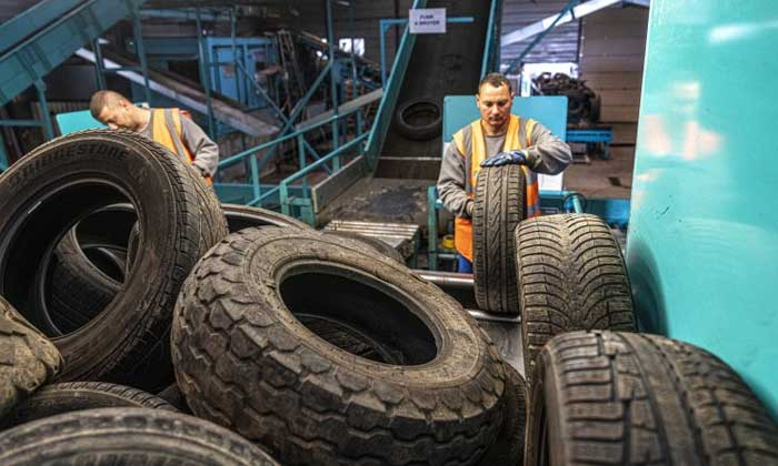 Europe collected and treated 94% of end-of-life tires in 2019