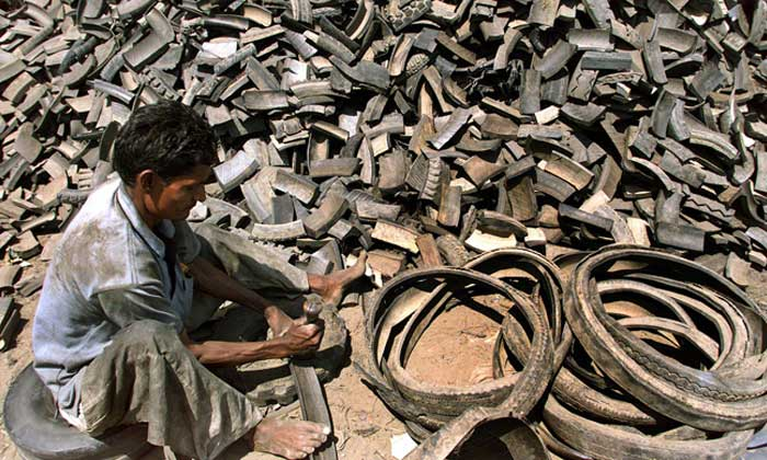 Indian government criticized over delay in decision on end-of-life tire imports