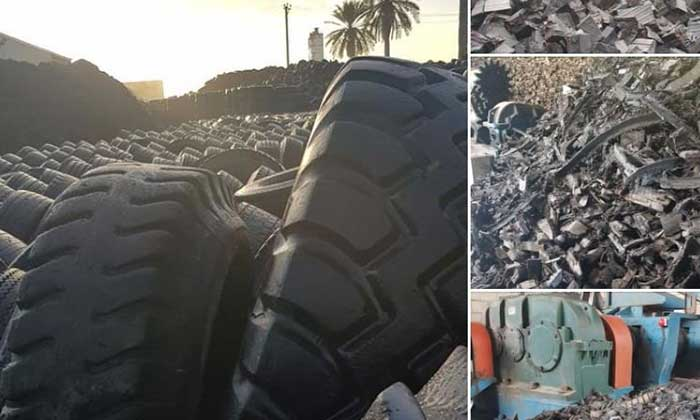 Libya exports crumb rubber from recycled end-of-life tires