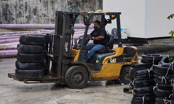 Mexican island streamlines end-of-life tire logistics