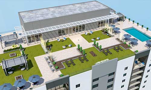 ShreddedTire gets approval from gov't to develop terrace rooftops from recycled tires across the U.S.