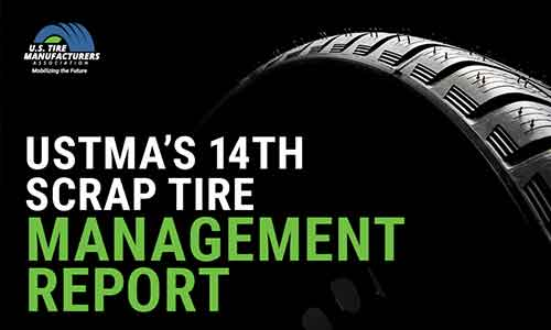 USTMA scrap tire report urges continued investment in end-use markets