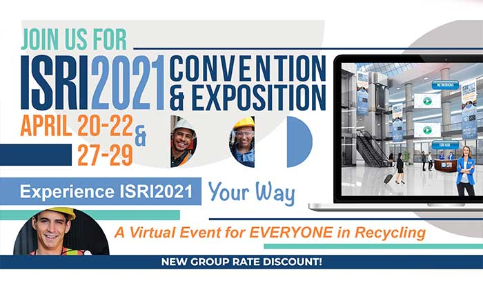 ISRI 2021 Convention & Exposition